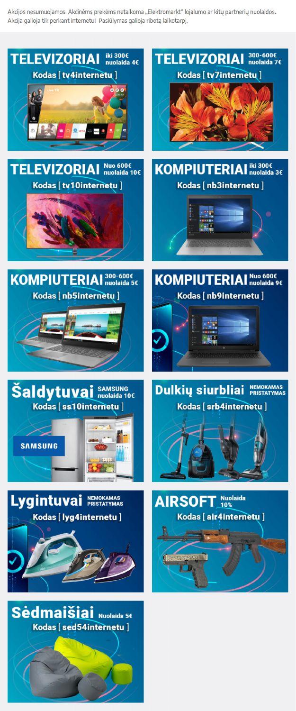 ElektroMarkt leidinys - 1 puslapis